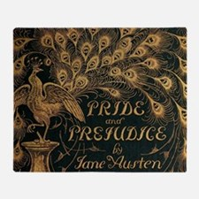Pride and Prejudice Bookcover Throw Blanket