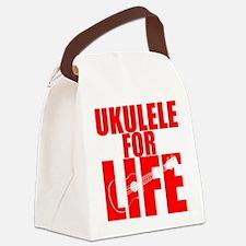 Ukulele Uke Canvas Lunch Bag