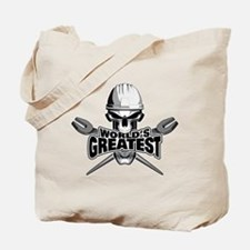 World's Greatest Ironworker Tote Bag