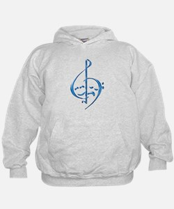 Funny Music theatre Hoodie