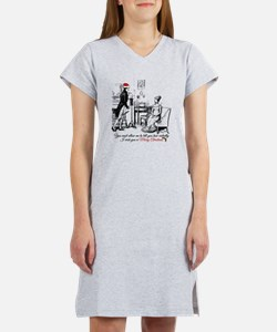 Ardently Merry Christmas Women's Nightshirt