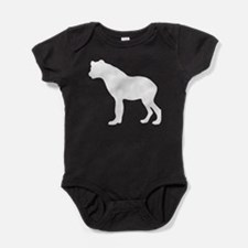 Hyena Silhouette Baby Bodysuit