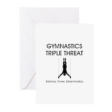 Gymnastics Teepossible.c Greeting Cards (Pk of 20)