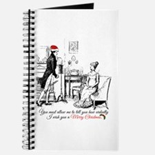 Ardently Merry Christmas Journal
