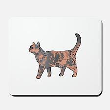 Tortoiseshell Cat Mousepad