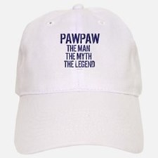 Badass PawPaw Man Myth Legend Cap
