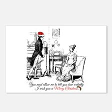 Ardently Merry Christmas Postcards (Package of 8)