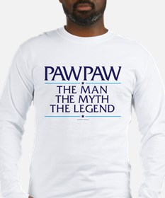 PawPaw Man Myth Legend Long Sleeve T-Shirt