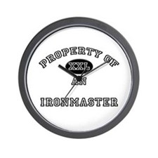 Property of an Ironmaster Wall Clock