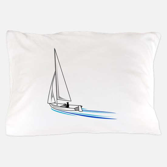 Sailboat Pillow Case