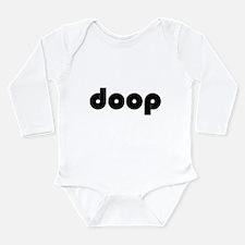 Cute Le toux Long Sleeve Infant Bodysuit