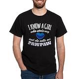 Pawpaw Mens Classic Dark T-Shirts