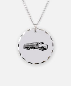 Tanker Truck Necklace