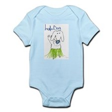 Hula Dog Infant Creeper