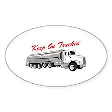 Keep On Truckin Decal