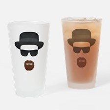 Vintage Heisenberg Logo Drinking Glass