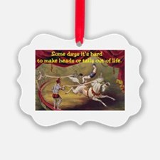 """Vintage circus poster - """"Some day Ornament"""