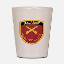 US Army Field Artillery Shot Glass