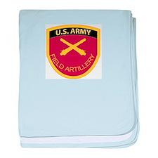 US Army Field Artillery baby blanket