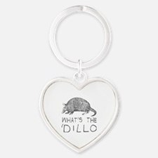 Cute Humor Heart Keychain