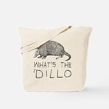 Funny Armadillo Tote Bag