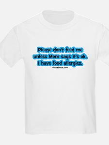 Food Allergy Alert T-Shirt