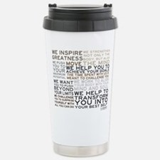 Unique Strength Travel Mug