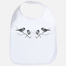 chickadee song bird Bib