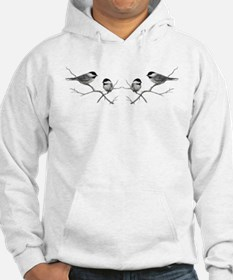 chickadee song bird Jumper Hoody