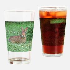 bunny rabbit Drinking Glass
