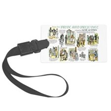 Scenes from Pride and Prejudice Luggage Tag