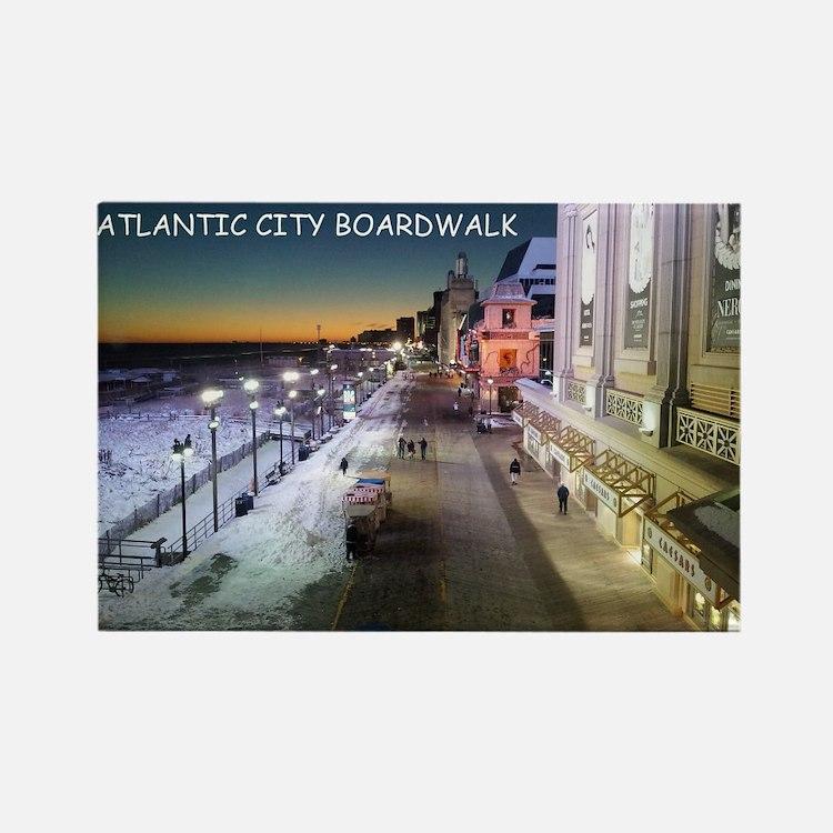 Cute Atlantic city Rectangle Magnet
