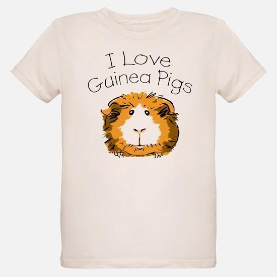 Unique I love guinea pigs T-Shirt