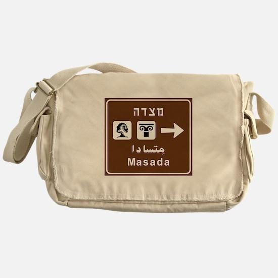 Masada, Israel Messenger Bag