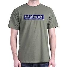 Karl Johans gate, Oslo, Norway T-Shirt