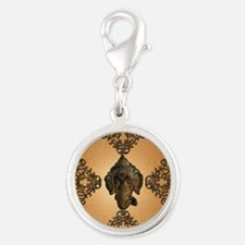 Indian elephant Charms