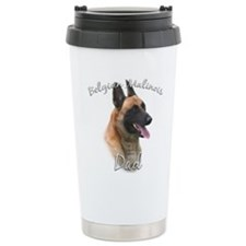 Cute German shepherd father%27s day Travel Mug