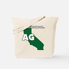 Ca-Mjdoa Decal Tote Bag