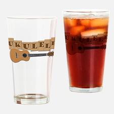 Fun Ukulele Drinking Glass