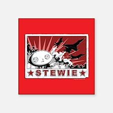 """Family Guy Stewie Jets Square Sticker 3"""" x 3"""""""