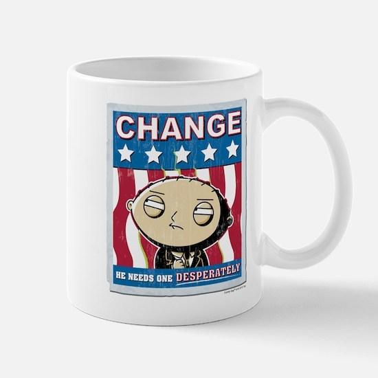 Family Guy Stewie Change Mug
