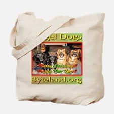 Angel Dogs of Byteland Tote Bag