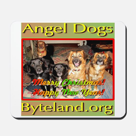Angel Dogs of Byteland Mousepad