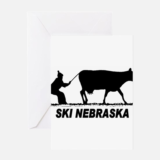 Funny Milk cow Greeting Card