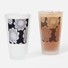 Cute Lace doilies Drinking Glass