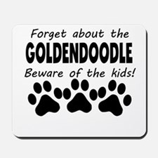 Forget About The Goldendoodle Beware Of The Kids M