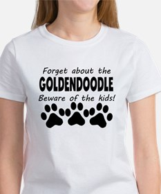 Forget About The Goldendoodle Beware Of The Kids T