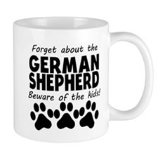 Forget About The German Shepherd Beware Of The Kid