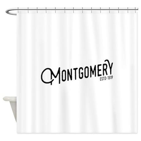 Montgomery, Alabama Shower Curtain