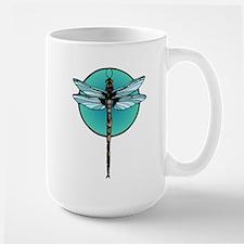 Teal Dragonfly Mug